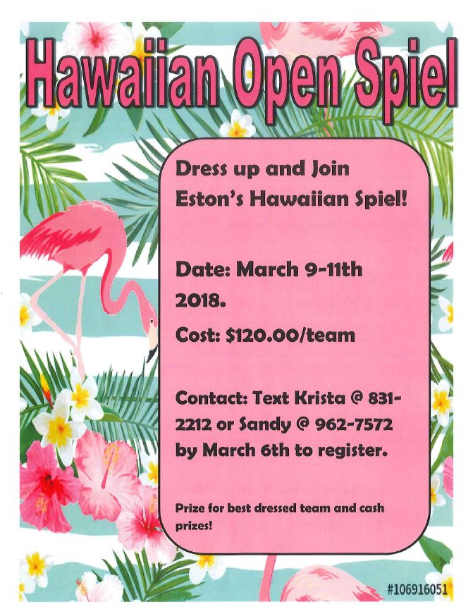 Hawaiian Curling Spiel