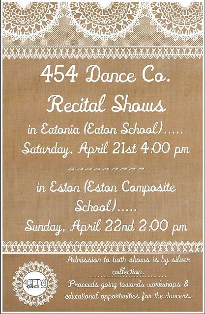 454 Dance Co. Recitals