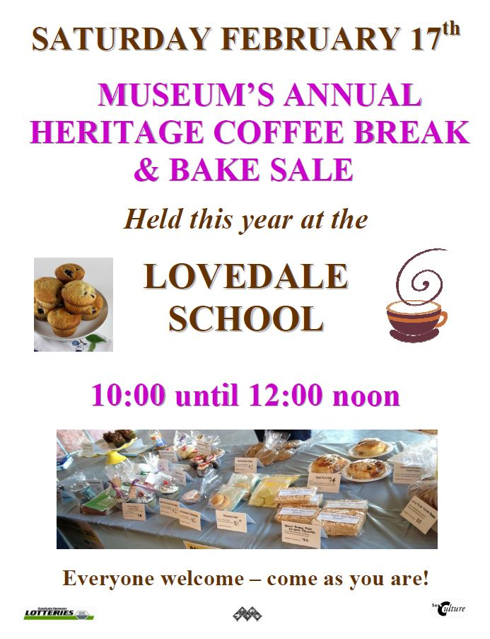 Museum Bake Sale