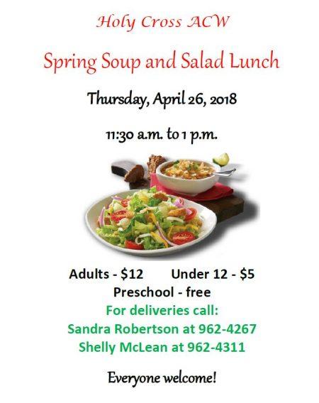 Soup & Salad Lunch