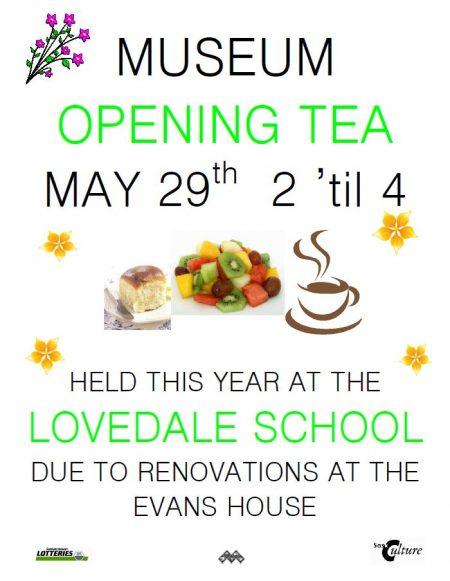 Museum Opening Tea