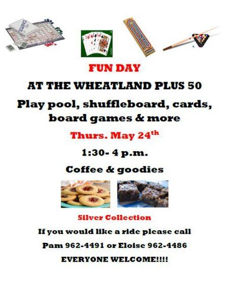 Wheatland Centre Fun Day