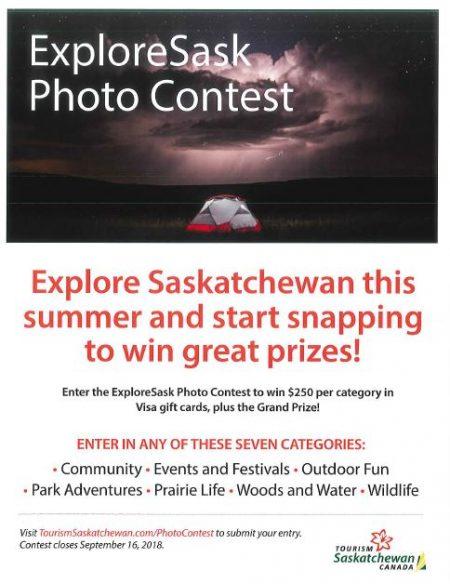 Explore Sask Photo Contest