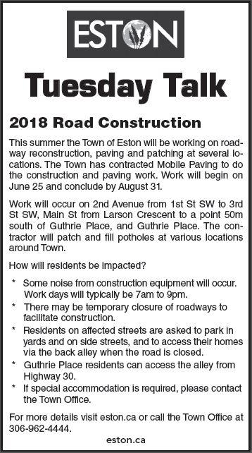 2018 Road Contruction