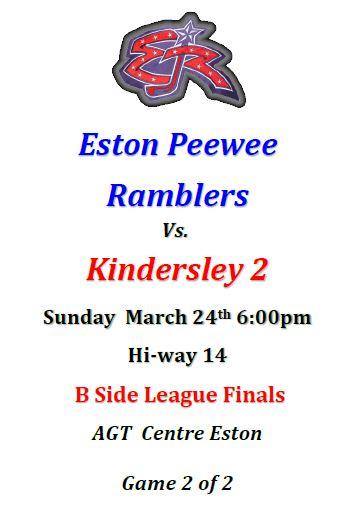 PeeWee League Finals