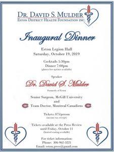 Dr. Mulder Inaugural Dinner