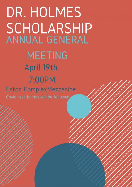 Dr. Holmes Scholarship Meeting