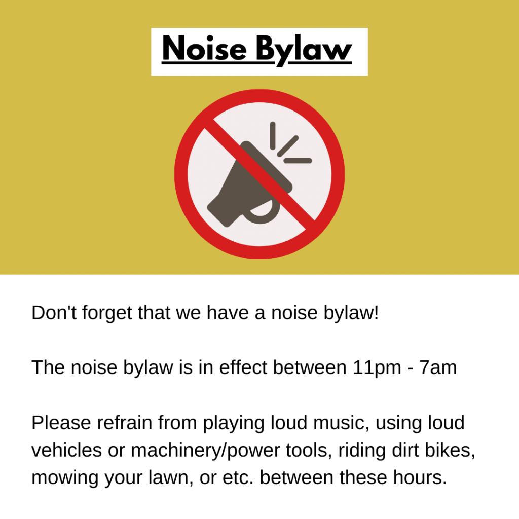 Noise Bylaw
