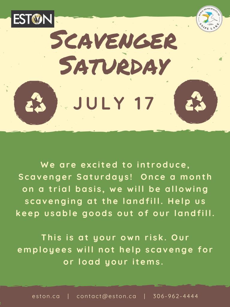 Scavenger Saturday